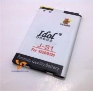 baterai blackberry double power JS1 davis 9220 armstrong 9320